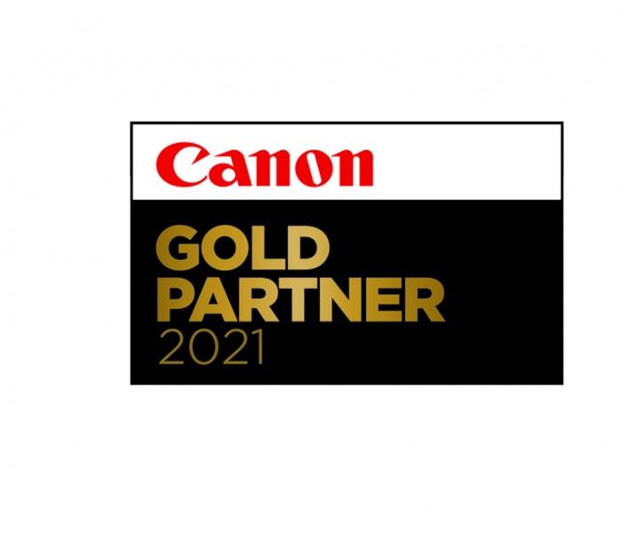 CANON PREMIUM GOLDPARTNER 2021